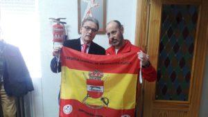foto entrega bandera ECEF 31.01.2020